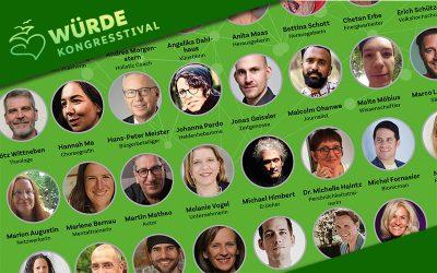 Am Wochenende 1. Online-Würdekongress