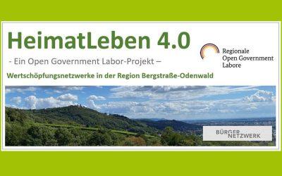 "Statusbericht 2020 : Open Government Labor ""HeimatLeben 4.0 Bergstraße-Odenwald"""