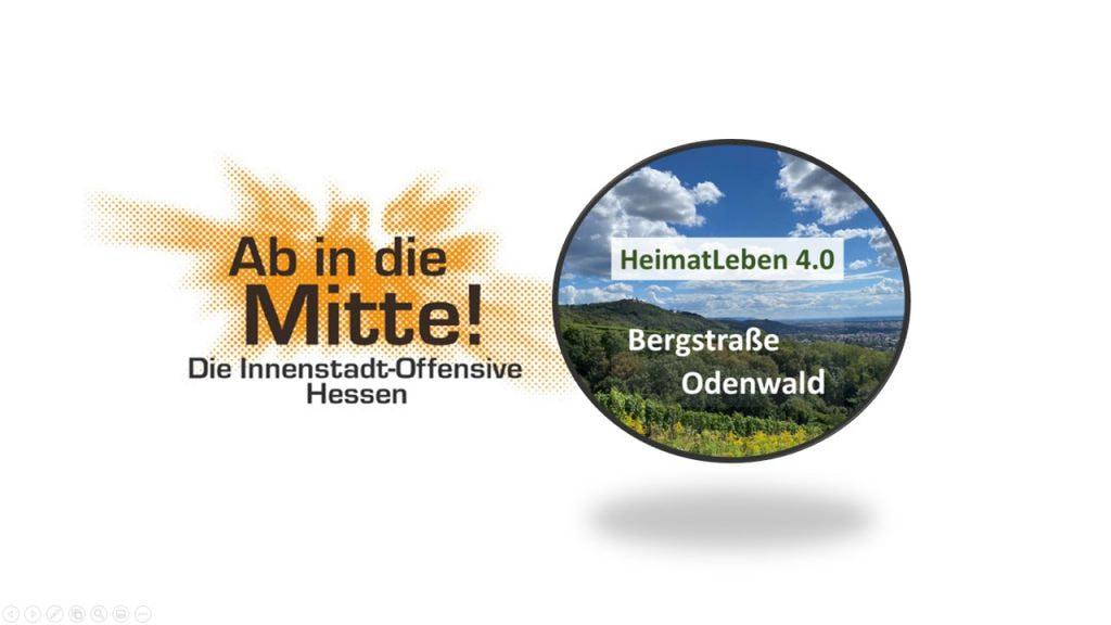 """HeimatLeben 4.0 – Teilnahme am hessischen Landeswettbewerb """"Ab in die Mitte"""""""