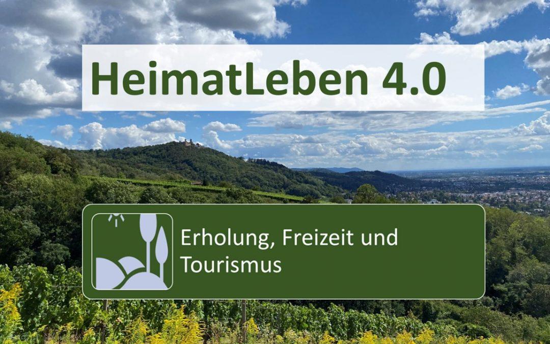 """HeimatLeben 4.0 Bergstraße-Odenwald – Start der Arbeitsgruppe """"Erholung, Freizeit und Tourismus"""""""